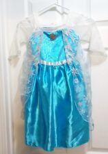 Girls Disney Elsa Frozen Dress And Headband