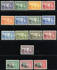 ST. HELENA 1938/49 SC 118//127+136-38 VF OG MLH/USED  RARE SHORT SET 13+3 STAMP