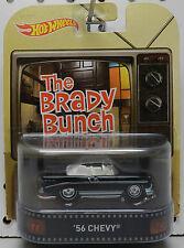 TV SHOW BRADY BUNCH THE 1956 56 CHEVY BEL AIR CONV BLACK BOX 2016 HW HOT WHEELS