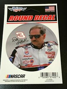 """DALE EARNHARDT #3 GOODWRENCH 3"""" X 3"""" ROUND DECAL / STICKER MADE IN USA"""