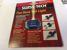 Swiss-Tech Flex Band LED Tool Light, Straps easily onto all types of tools