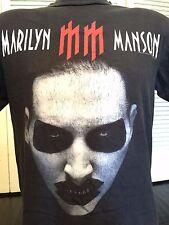 Rare Marilyn Manson Babble Bitch Tour Shirt Sz M Goth Metal Alternative Rock 666