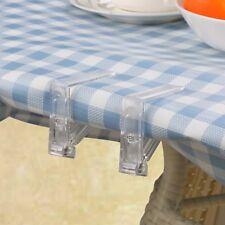 20 TableCloth Clips Dining DeskCover Protector Adjusting Holder Decoration Clamp