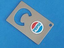 PEPSI COLA LOGO CREDIT CARD BOTTLE OPENER #087
