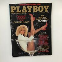 Playboy Magazine - GOLDIE HAWN Cover & Interview, January 1985