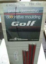 4 Doors Red / Metallic Moulding Trim SET Fits VW Golf Mk2 ITALY NOS RARE ONE