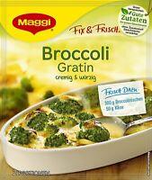 Maggi fix & frisch für Broccoli Gratin mit einer Cremigen Sauce 40g