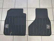 DODGE RAM Reg/Quad Cab Front Slush Floor Mats Dark Slate NEW OEM MOPAR