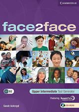 face2face Upper Intermediate Test Generator CD-ROM, Ackroyd, Sarah, New conditio