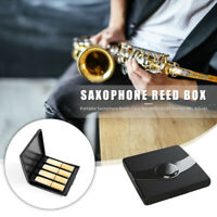 Sax Reeds Case Waterproof Portable Storage Box Musical Instrument Accessories