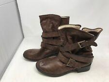 Womens Seventeen (74355) Brown Fur Boots 438n