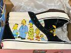 Vans Brand New Sk8-Hi The Simpsons 1987-2020 Skate Sneakers Men's Size USA 5.5