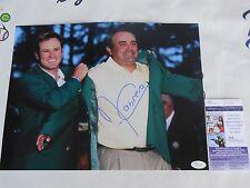 Angel Cabrera signed 11x14 2009 Masters green jacket champion photo JSA COA