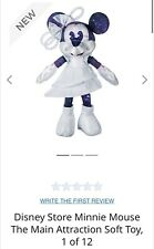 Minnie Mouse Main Attraction Plush Space Mountain January 1/12 Limited edition