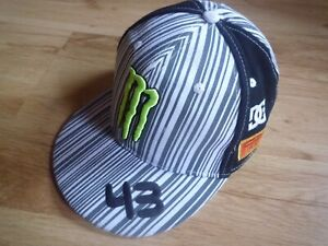 Monster Energie DC Pirelli Ken Block 43 Fitted Hat Size 7 1/2 or 60cm