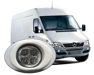 Daytime Running Lights DRL LED Mercedes Sprinter 2000 to 2006 to paint