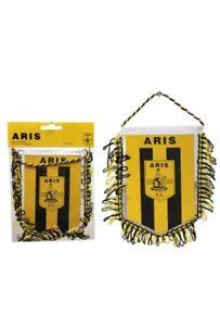 Aris Thessaloniki Wimpel,Wappen Pennant Fanshop Europa League,Fußball,NEUGreece
