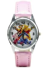 Winnie the Pooh And Friends Pink Leather Band WRIST WATCH