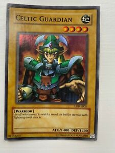 CELTIC GUARDIAN LOB-E005 Holo Foil yugioh card Unlimited Edition Rare