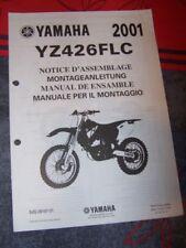 32 - Notice/Manuel Montage/Assemblage Supplement Yamaha Moto YZ426FLC YZ 426 FLC