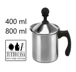 CAPPUCCINATORE MONTALATTE CAPPUCINO CREAMER MONTA SCHIUMA LATTE CAFFE 400 800 ML