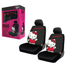 New Sanrio Hello Kitty Core Car Truck 2 Front Seat Covers With Headrest Covers