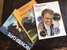 United Air lines Mainliner Magazine June July 1970 July 1971 lot of 3