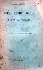 LAZIO PALESTRINA ARCHEOLOGIA CON CARTE