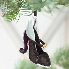 Disney URSULA SHOE ORNAMENT LITTLE MERMAID VILLAINS CHRISTMAS TREE HOLIDAY NW
