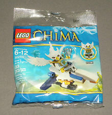 LEGO Chima Ewar's Acro Fighter 30250 Set Legends of w Ewar Minifigure NEW