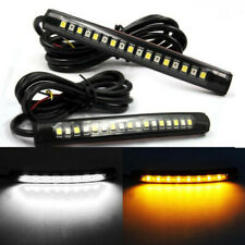 2x17 LED Light Strip Flexible Bar Cree Turn Signal Indicator Motorcycle Lamp hg