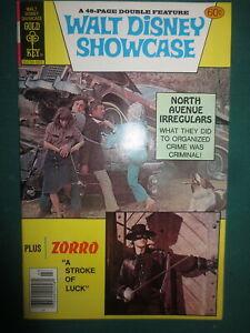 1979 Vintage Walt Disney Showcase Comic Book No #49 March Gold Key Zorro