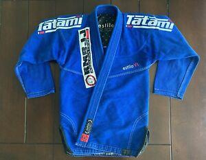 Tatami Fightwear Estilo 6.0 Premium BJJ Gi - Blue/White - A1F (fitted)