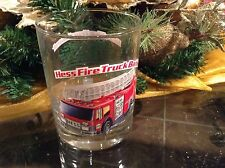 Hess Fire Truck Bank - Gas Station Glass Tumbler 1996 Classic Collector Series