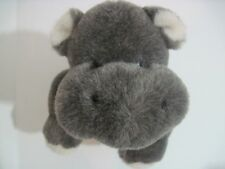 "The Boyds Collection Plush Hippo 13-1/2"" Long Jointed 1988-2002"