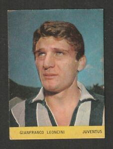 FIGURINA CALCIATORI DI LARA 1967-68 JUVENTUS LEONCINI
