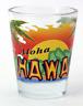 HAWAII ALOHA BEACH & SUN SHOT GLASS SHOTGLASS
