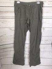 North Face Women's Hiking Pants-Full Length w/Roll Up Hem-Olive Green-Nylon-SZ 6