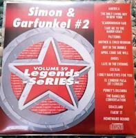 LEGENDS KARAOKE CDG SIMON & GARFUNKEL OLDIES POP VOL 2 #59 18 SONGS CD+G