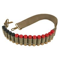 NcSTAR VISM AASHBANT Tactical 12 Gauge Shotgun Shell Bandolier 2 Point Sling