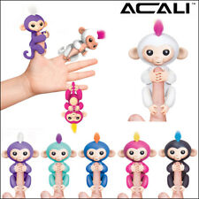 ACALI Cute Finger Toy Baby Monkey Electronic Interactive Toy Robot Pet Kids Gift