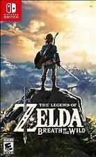 The Legend of Zelda: Breath of the Wild - Nintendo Switch - Brand New/Sealed