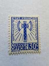 FRANCE 1943 SERVICE n° 2 neuf (*) cote 40 € e/Cq284