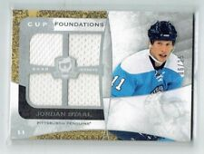 08-09 UD The Cup Foundations  Jordan Staal  /25  Quad Jerseys