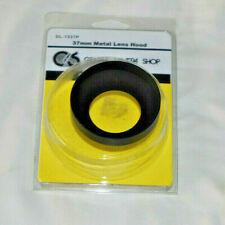 37mm Metal Lens Hood - Black Screw-In
