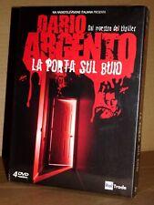 LA PORTA SUL BUIO Dario Argento Cofanetto 4DVD Digipack NUOVO SIGILLATO!!!
