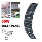 50w flexible Solar Panel 50 Watt For Car Battery/Boat/Camping/RV /Power station