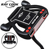 """RAY COOK SR-500 BLACK 35"""" MALLET PUTTER +HEADCOVER & MIDSIZE GRIP / NEW FOR 2019"""