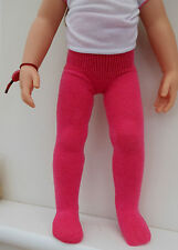 "2 prs dolls tights for 18"" Kidz n Cats AG  Gotz 11 colours made by LESLEY SHAW"
