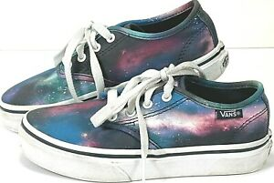 Vans Galaxy Shoes Kids Sz US Missy 12 721356